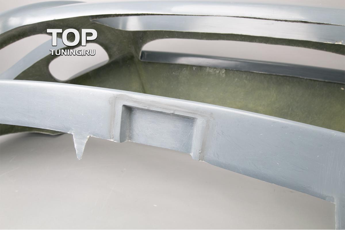 Передний бампер - Модель Je Design - Тюнинг Фольксваген Туарег 1 (дорестайлинг 2002, 2007).