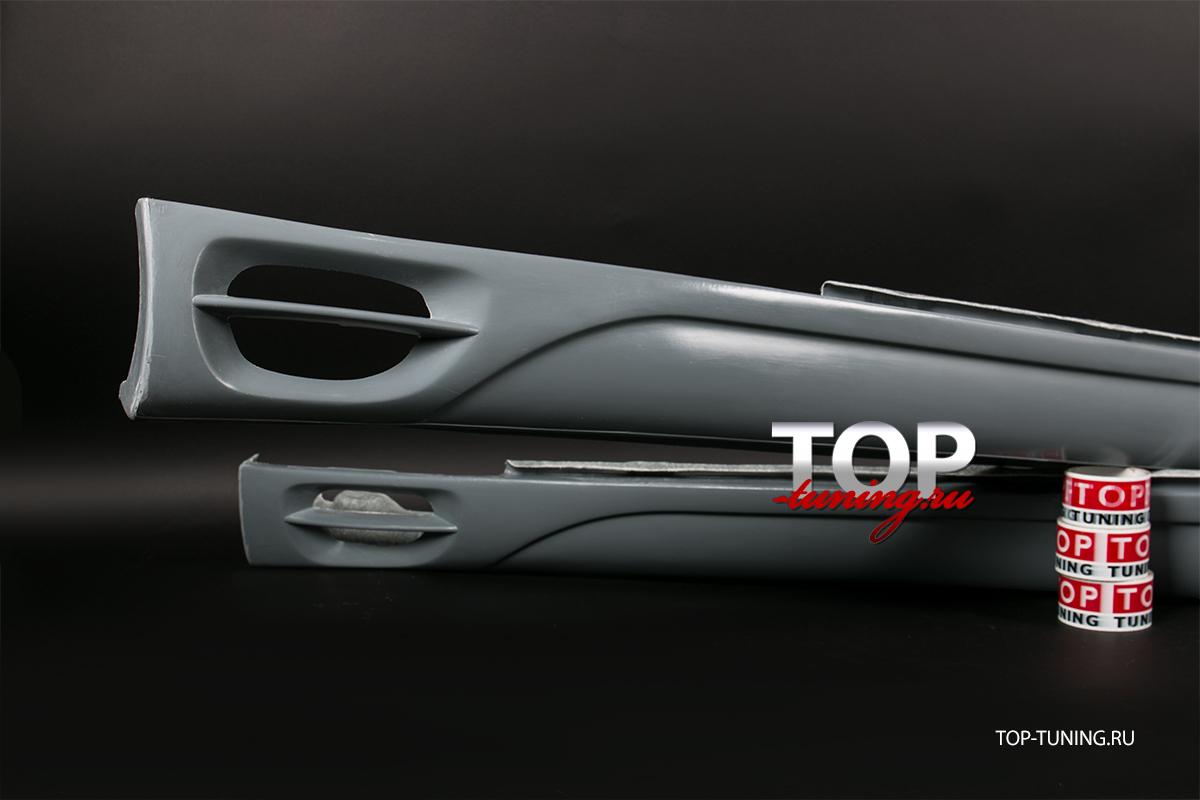 5006 Накладки на пороги Lorinser F1 на Mercedes CL-Class W215