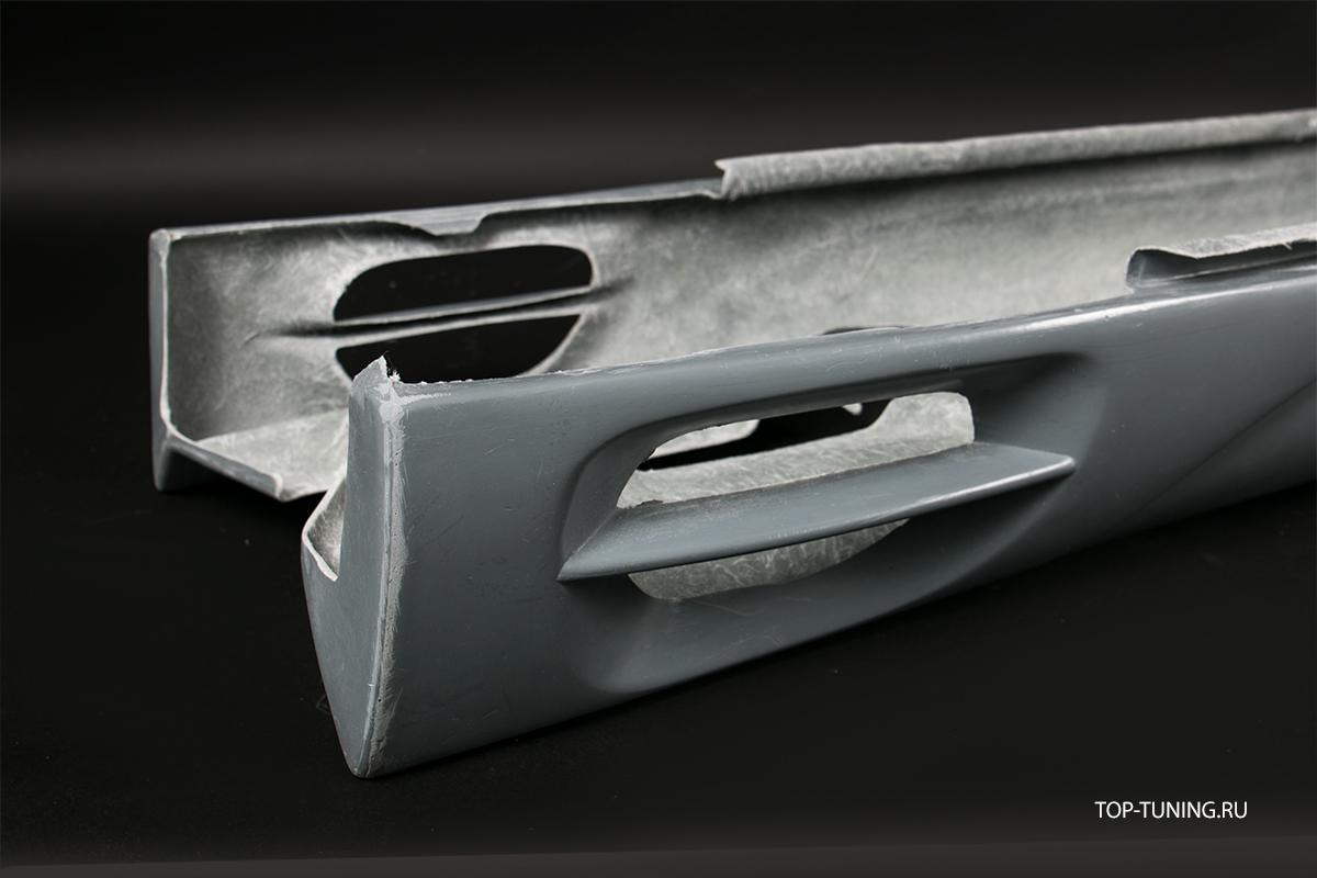 Тюнинг Мерседес W215 - Пороги обвеса Lorinser F1.