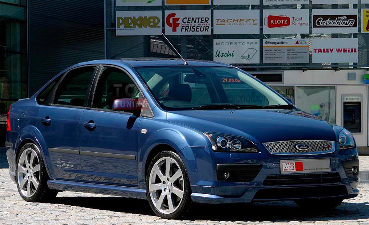Юбка бампера на ford focus 2