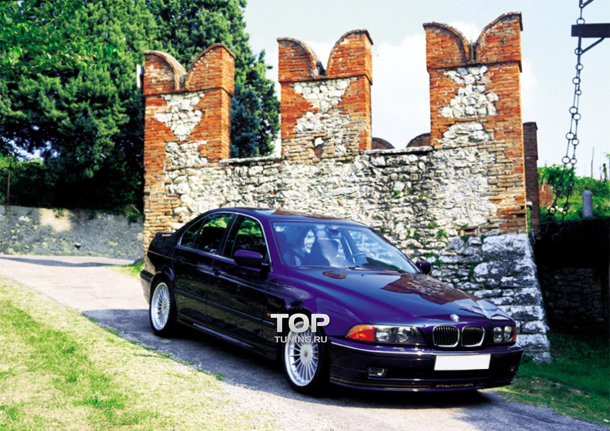 накладка на передний бампер BMW e30