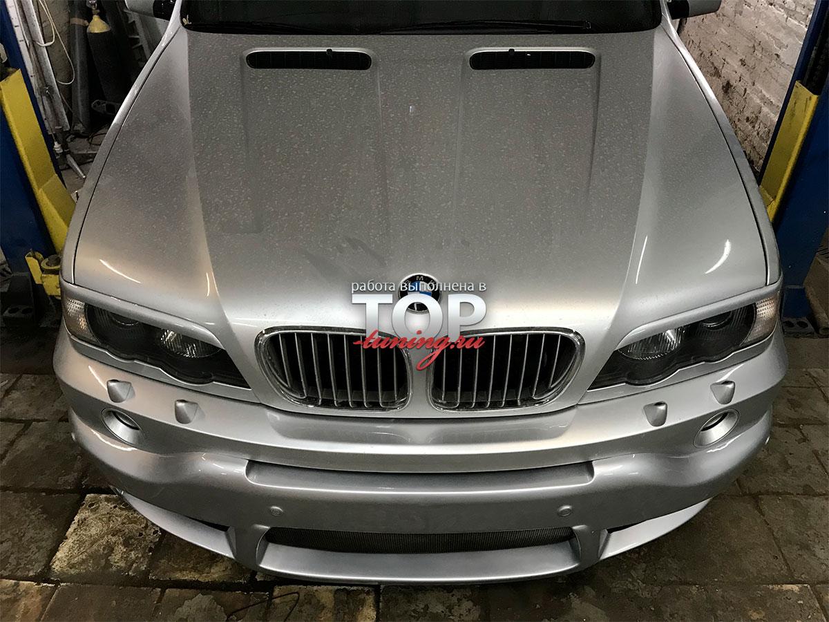 5320 Юбка GT на передний бампер на BMW X5 E53