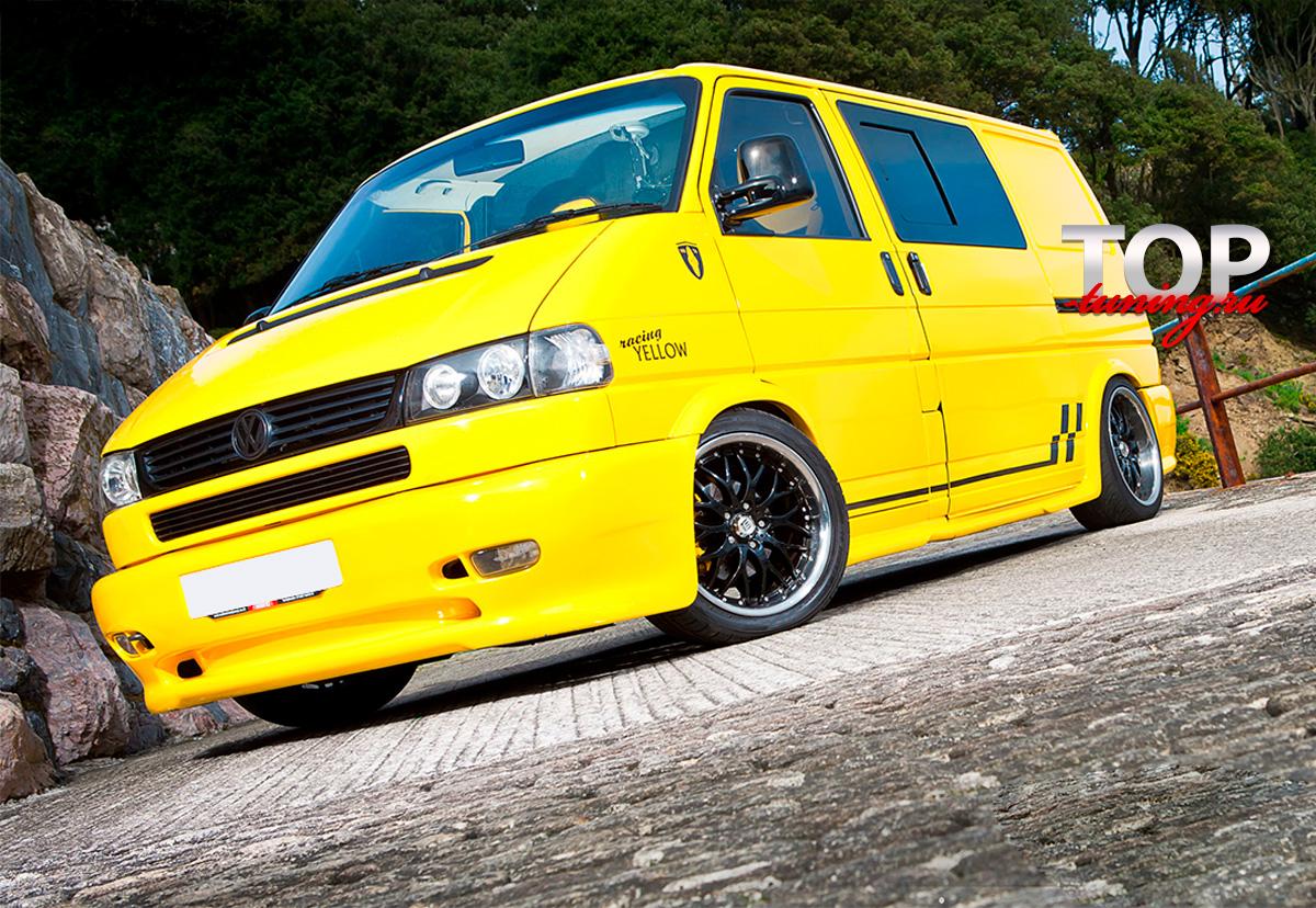 5396 Накладки на пороги / арки Arts на VW Transporter T4