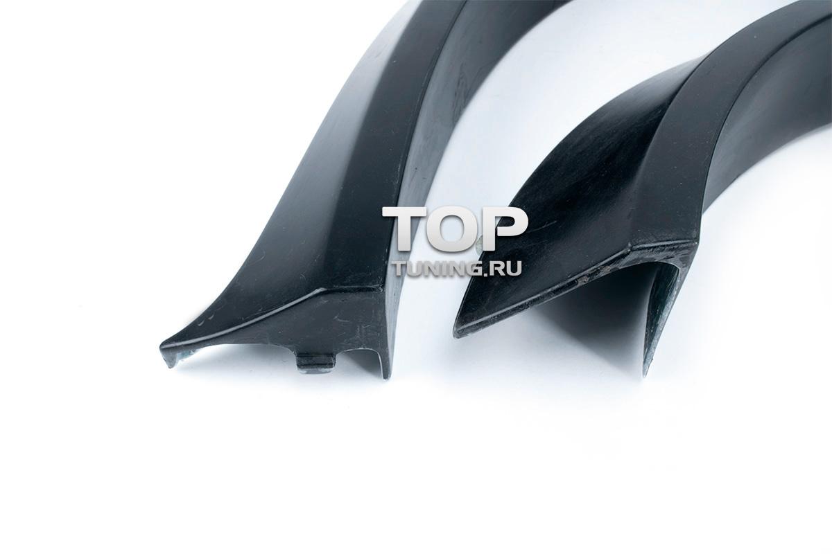 Тюнинг БМВ Х5 (е70 рестайлинг) - Задние расширители арок M-Style.
