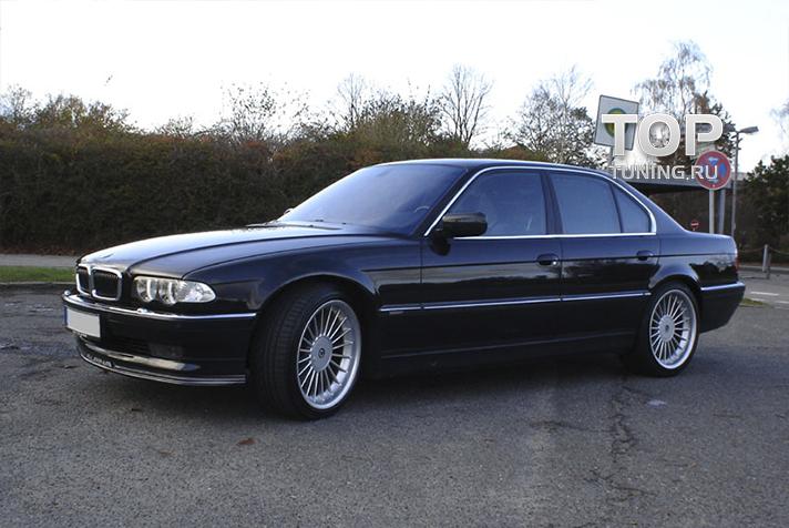 бампер задний на BMW e38