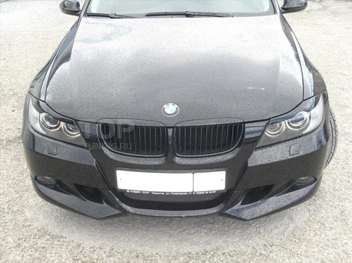 Тюнинг БМВ Е90 - Реснички Exclusive.