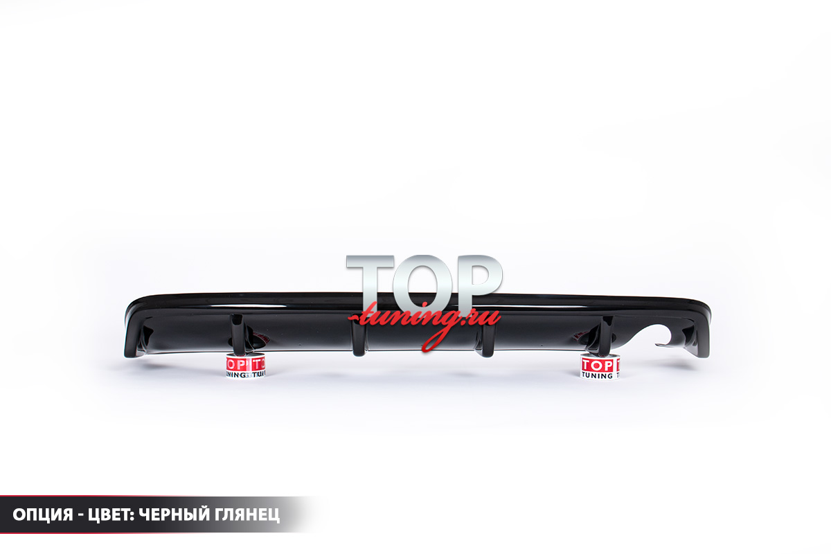 5546 Диффузор на задний бампер Ralliart Style на Mitsubishi Lancer 10 (X)