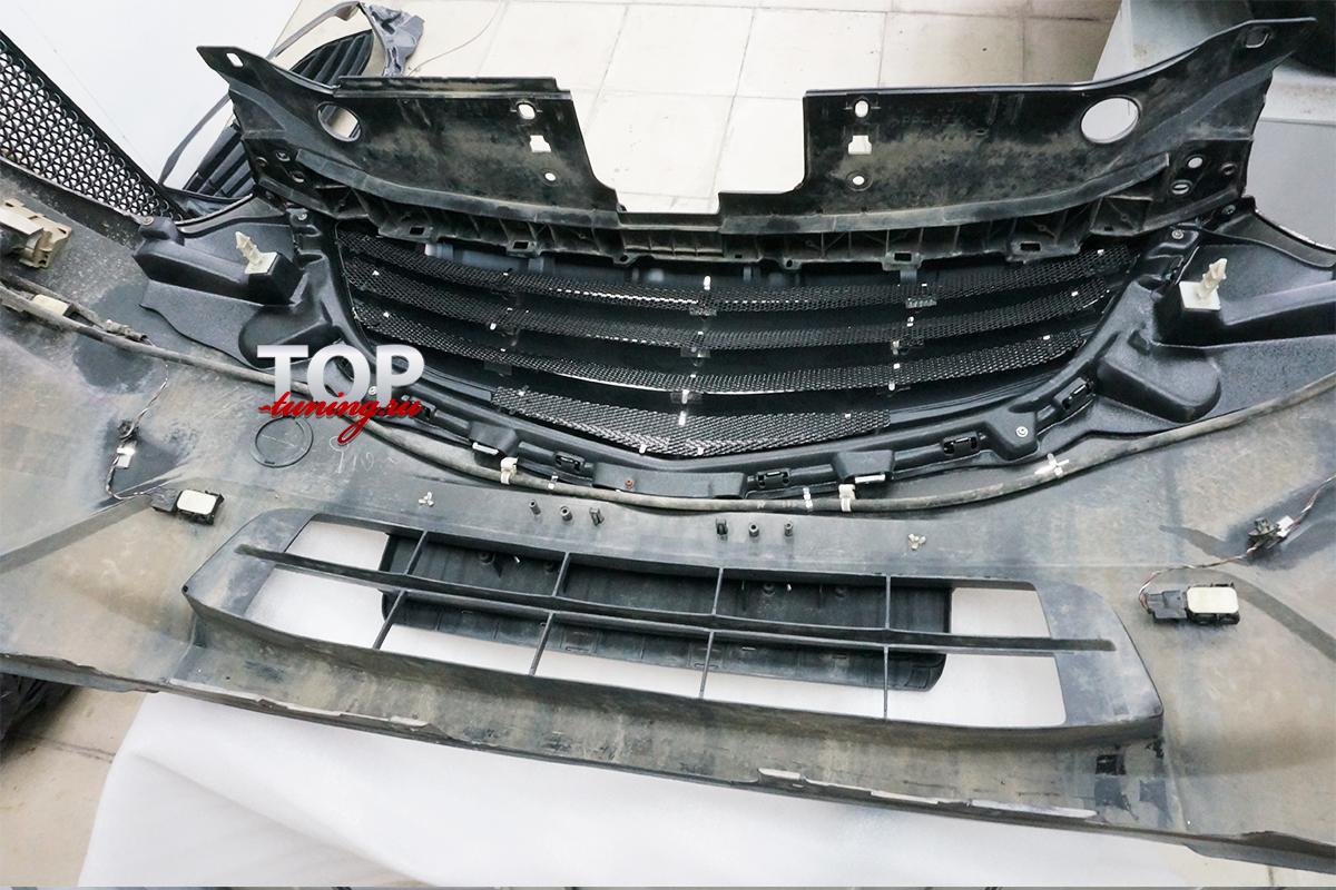 5565 Решетка радиатора без значка Admiration Belta на Mazda CX-5 1 поколение