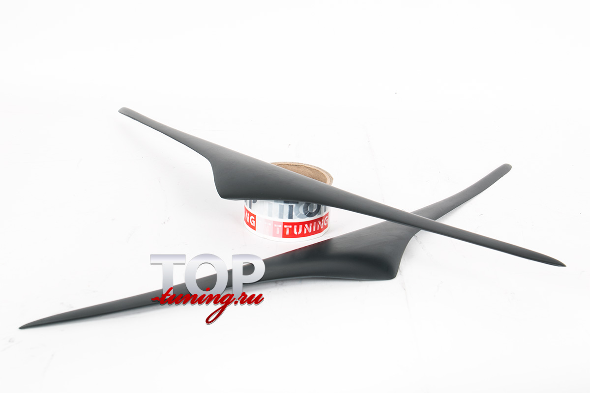 5685 Накладки на переднюю оптику GT на Infiniti QX70 (FX35, 37, 50)