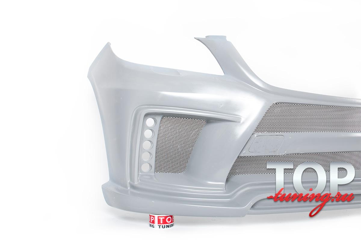 Передний бампер WALD Black Bison на Mercedes ML 166 - ТОП ТЮНИНГ