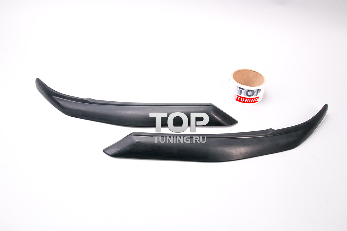 5711 Реснички на переднюю оптику GT-R на Toyota Camry V50 (7)