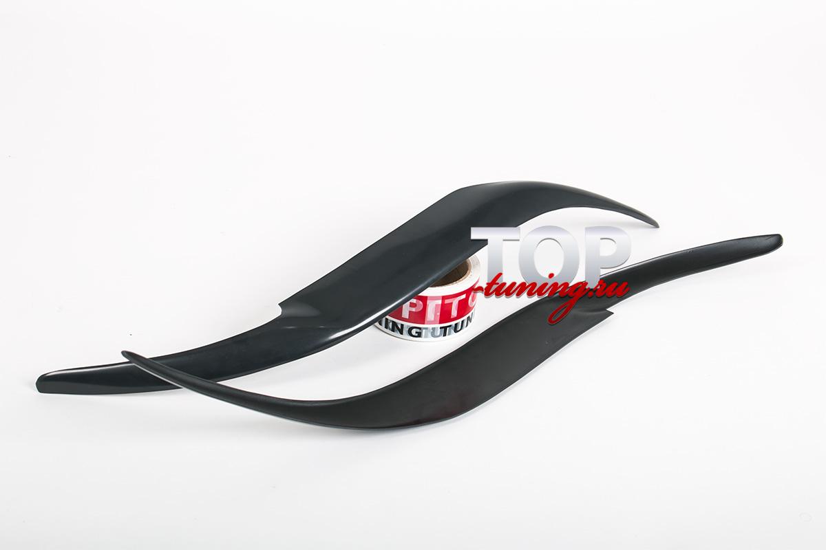 Реснички на фары FX - Тюнинг Toyota Camry V40 (Рестайлинг).