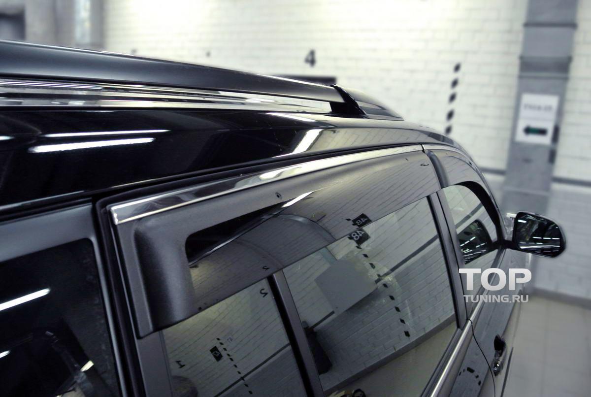 5826 Дефлекторы окон STEEL LINE на Toyota Highlander XU40