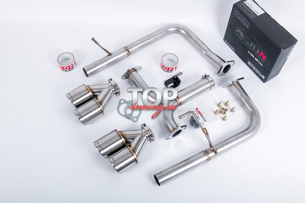 5885 Двойная выхлопная система A.JUN Exclusive на Hyundai Santa Fe 3 (DM)