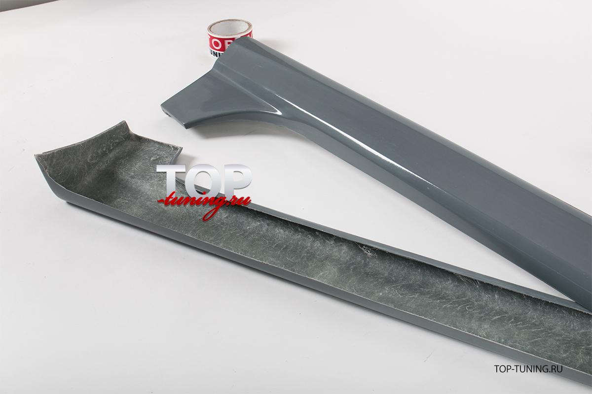 Тюнинг комплект - Пороги Panther (ASC Magnum) для Мазда 3 БК.