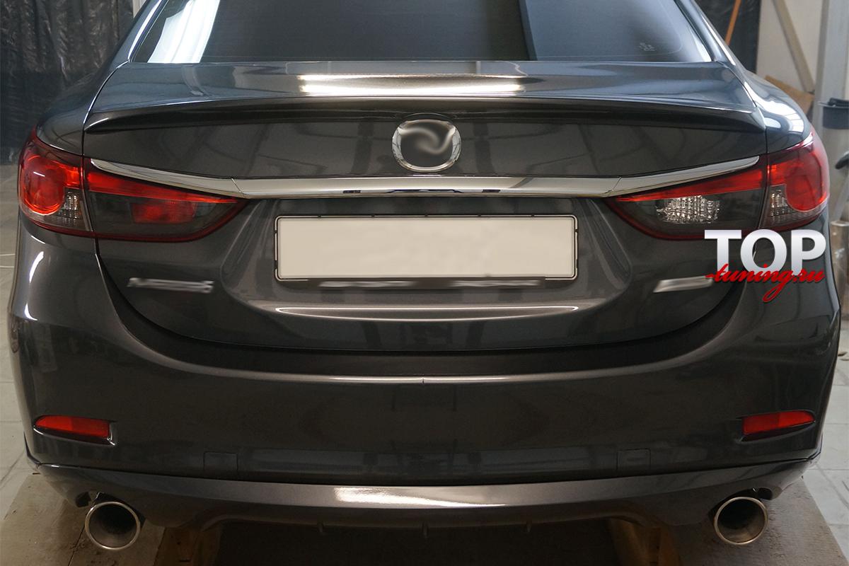 6087 Диффузор заднего бампера STEALTH на Mazda 6 GJ