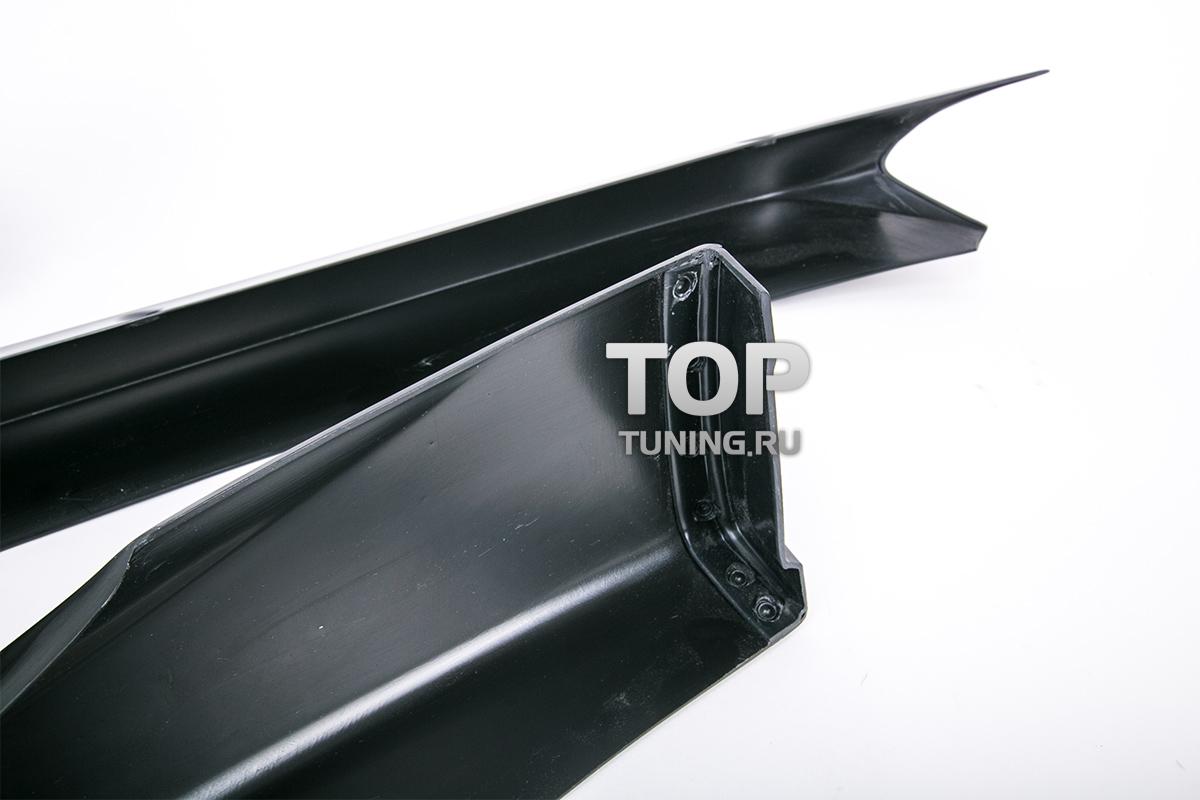 Накладки на передний бампер - Обвес Стелс - Тюнинг Мазда 6 GJ 2013 +