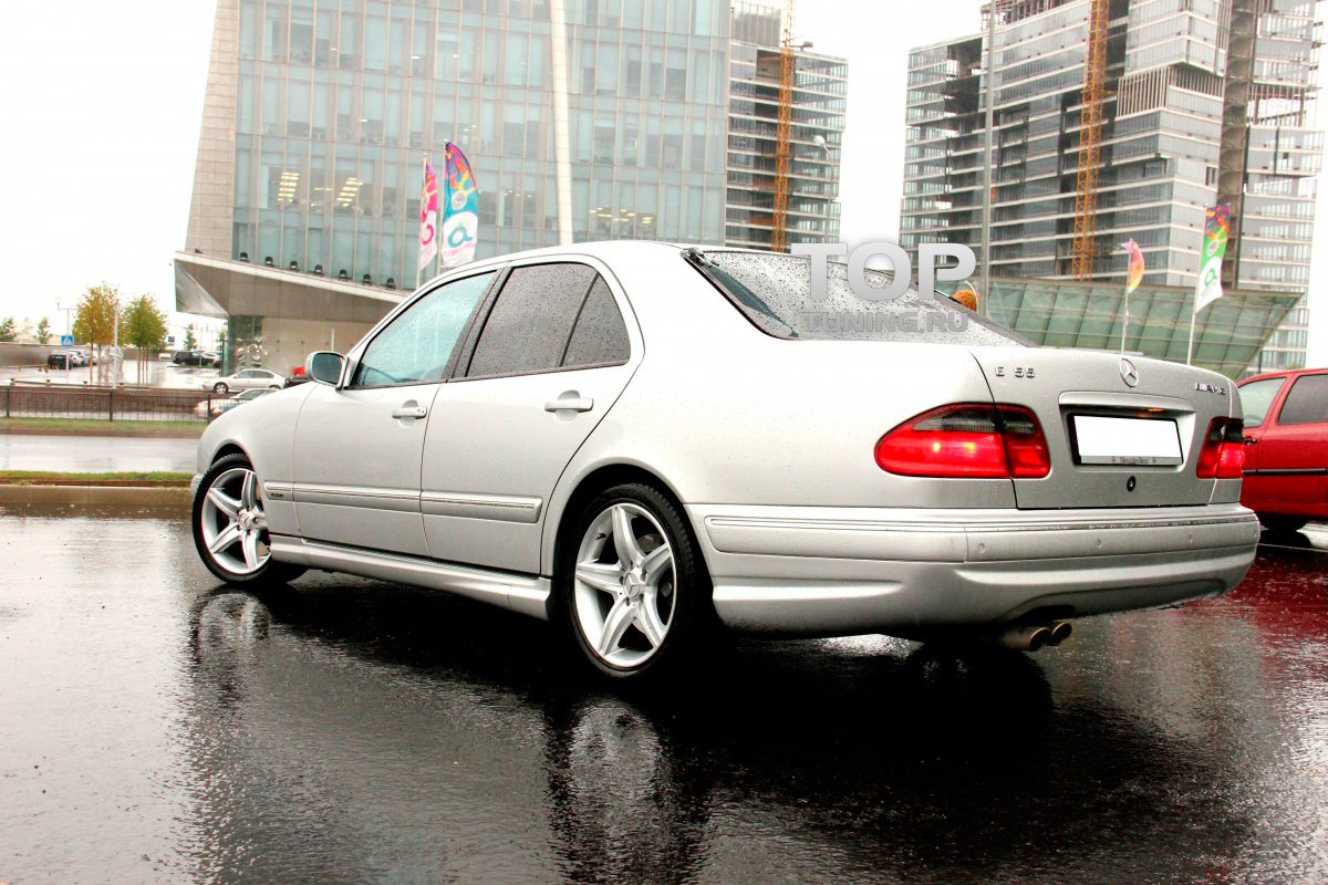 Amg e55 mercedes e class w210 for 1999 mercedes benz e320 front bumper