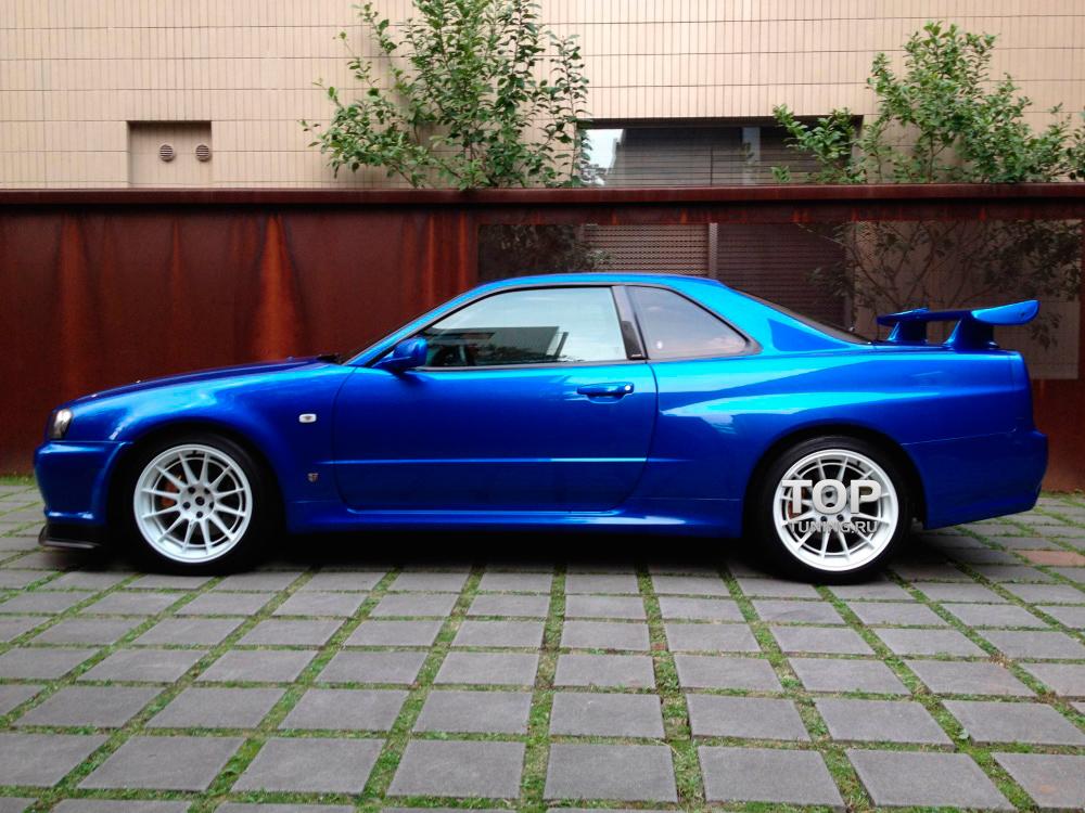6215 Комплект порогов GTR (Coupe) на Nissan Skyline R34