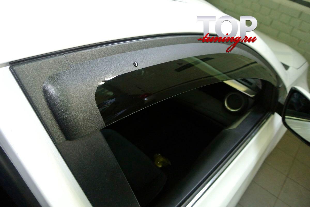 6262 Дефлекторы на окна Well Visors Premium на Toyota RAV4 4