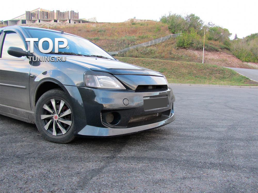 Обвес Power DM дорестайлинг на Renault Logan