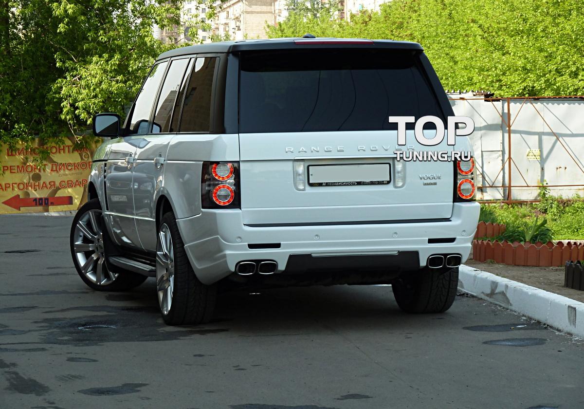 Юбка заднего бампера - Модель VERGE Individual- Тюнинг Range Rover Vogue (3 Поколение, 2-ой рестайлинг 2010, 2012.)