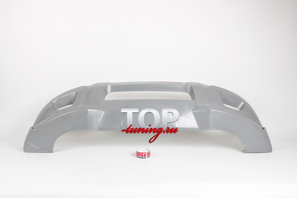 Накладка на передний бампер - Модель X-CAR Sportiv - Тюнинг Вольво XC90 (1 поколение, рестайлинг)