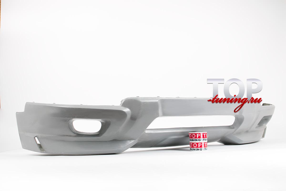 6474 Юбка переднего бампера X-CAR Sportiv на Volvo XC90 1