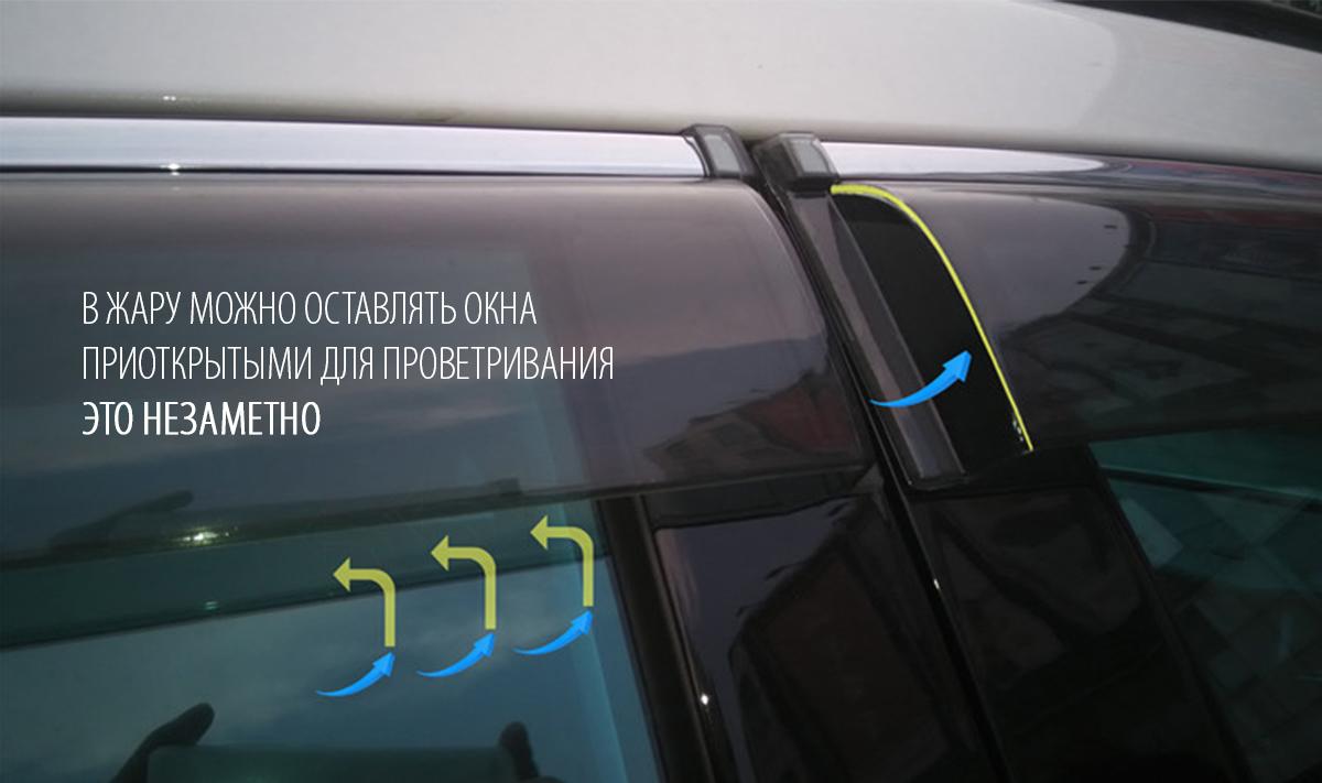дефлекторы окон mazda cx-5 с логотипом
