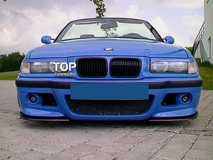 BMW e36 как снять передний бампер