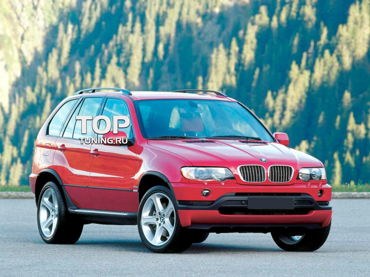 задние стойки на BMW x5 e53