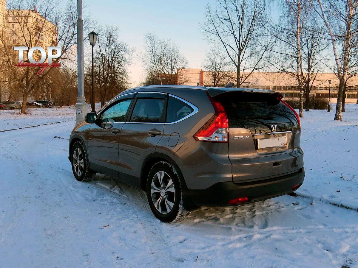 6659 Спойлер на крышку багажника на Honda CR-V 4