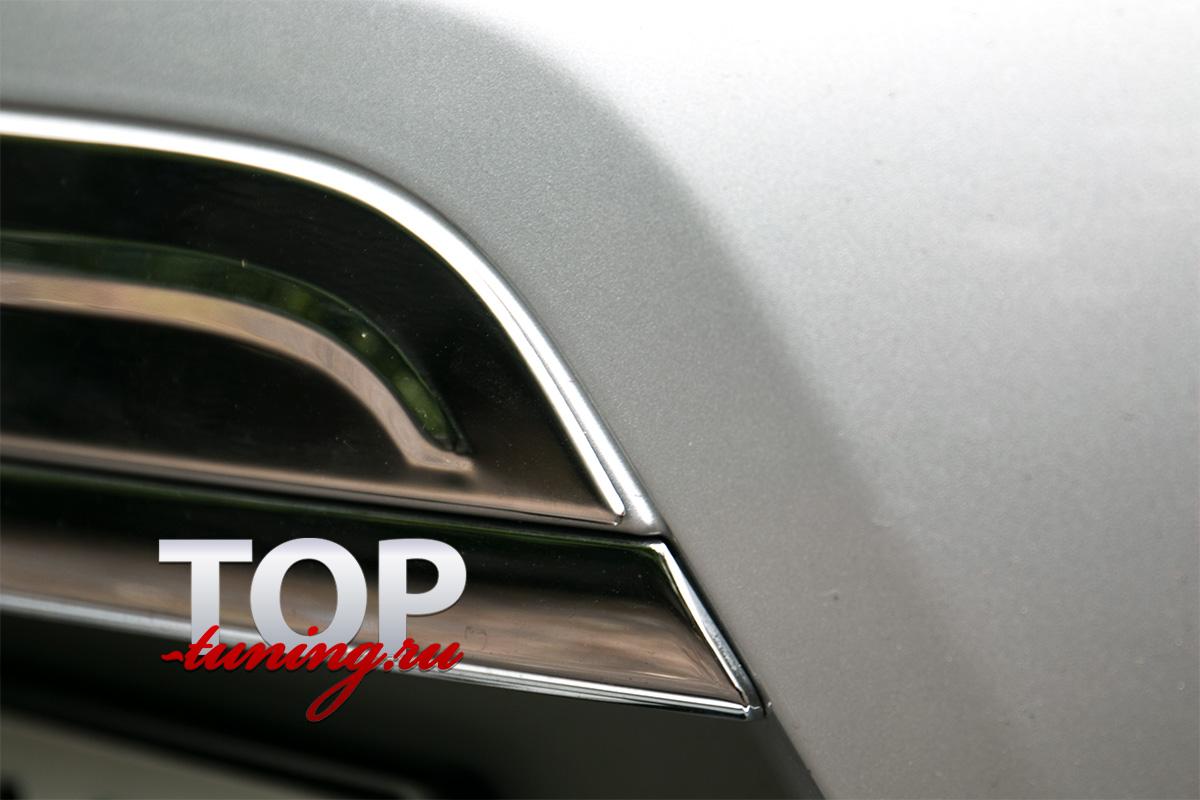 6663 Накладка на дверь багажника 3D на Nissan X-Trail T32