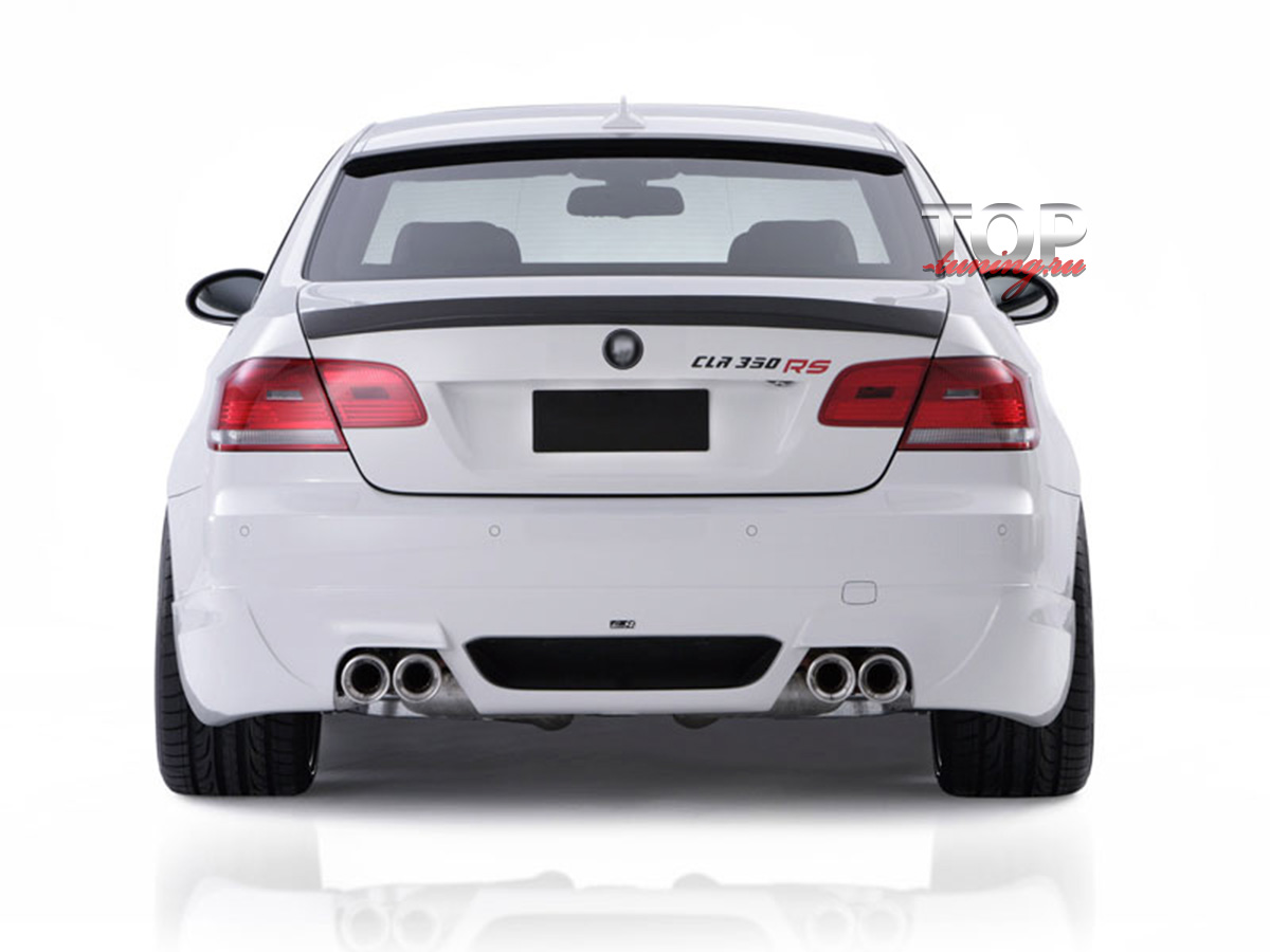 743 Задняя юбка (накладка) LMA на BMW 3 E92