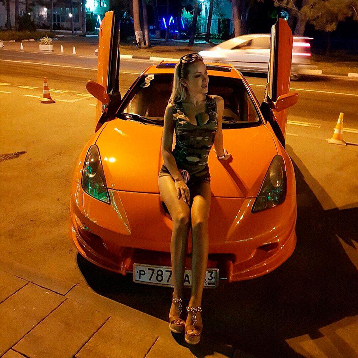 754 Ламбо петли ULD Bolt ON на Toyota Celica T23