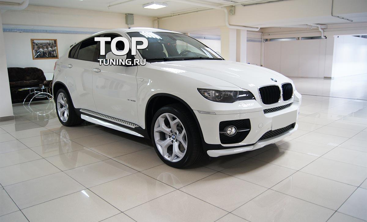 7804 Накладки на пороги Performance ABS на BMW X6 E71