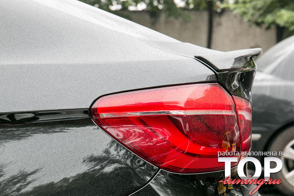 Cпойлер на крышку багажника М пакет - Тюнинг БМВ Х6 Ф16