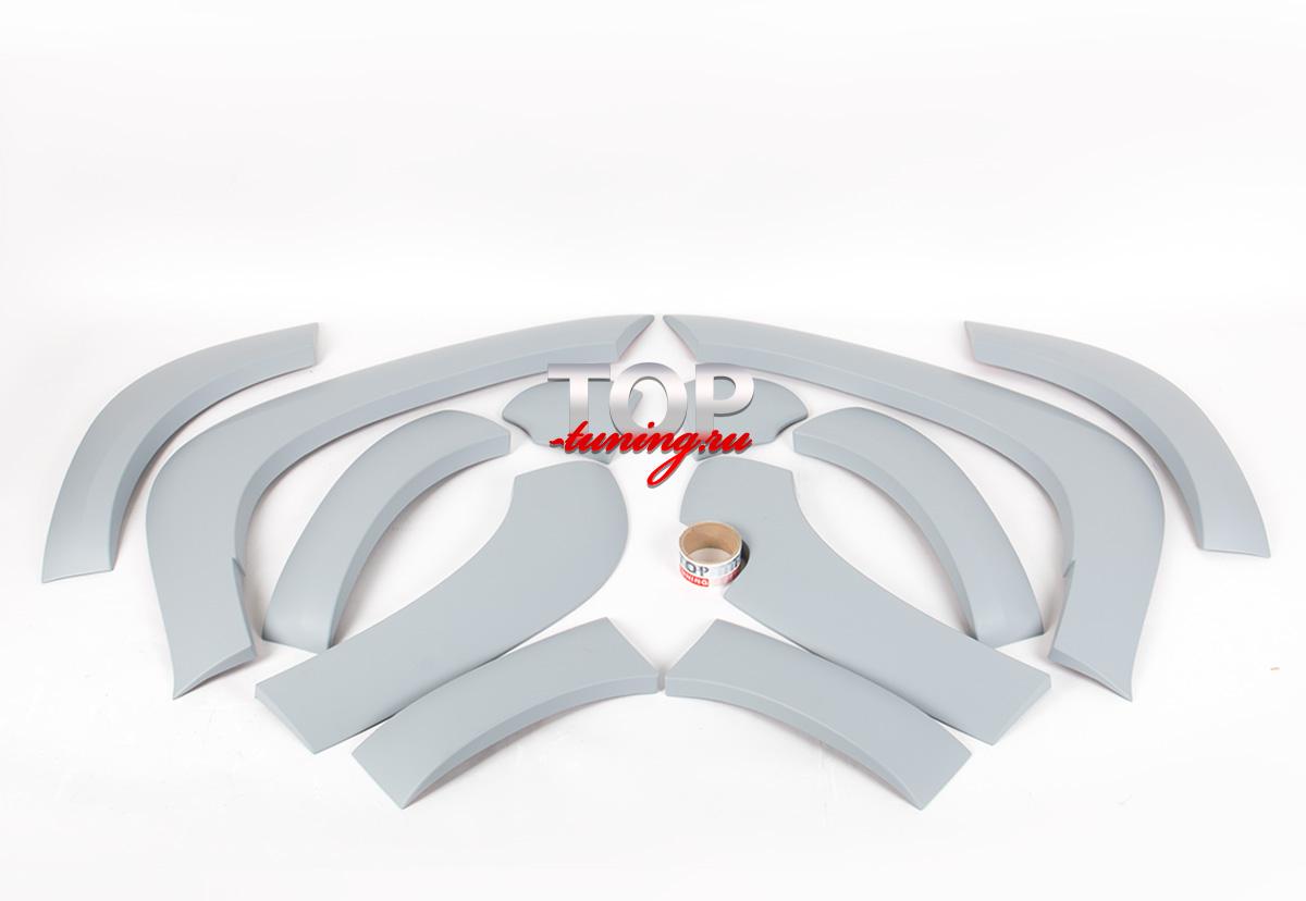 7906 Расширители арок TRD Дорестайлинг на Toyota Land Cruiser Prado 150