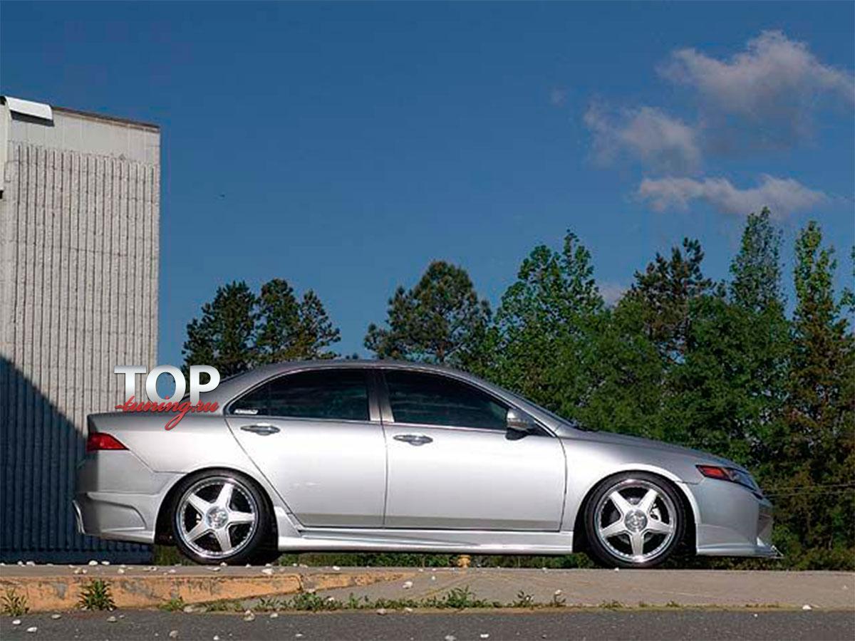794 Передний бампер - Обвес Sport Line на Honda Accord 7