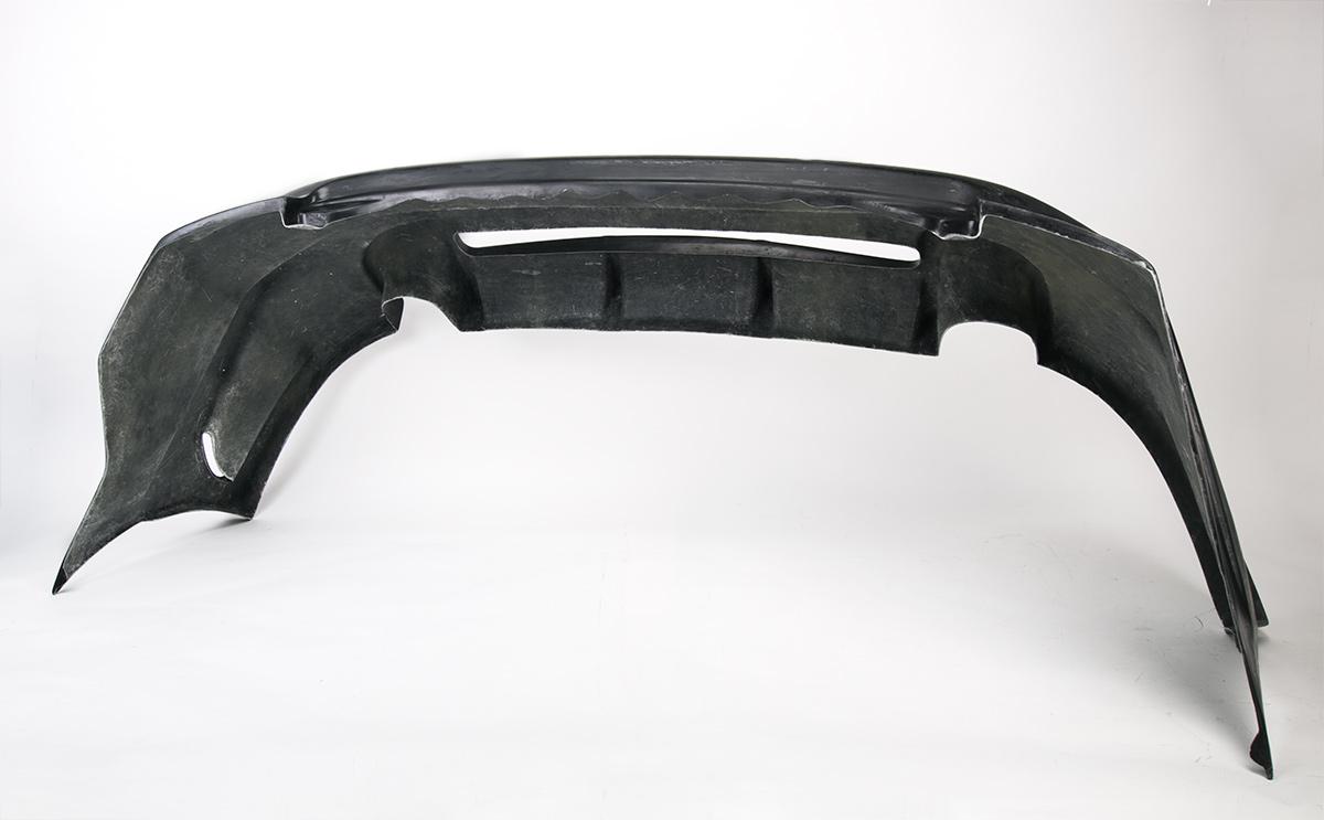 Задний тюнинг бампер - Обвес Спорт Лайн - Хонда Аккорд 7.