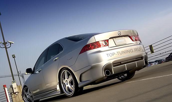Тюнинг-пороги Спорт Лайн на автомобиль Хонда Аккорд 7 (седьмое поколение).