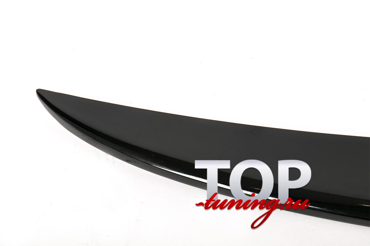 Черный, глянцевый спойлер крышки багажника GT - Тюнинг Киа Оптима (К5, рестайлинг)