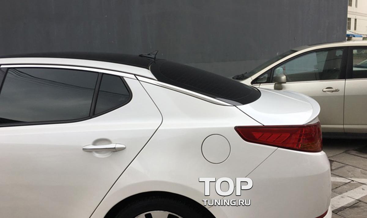7962 Спойлер на крышку багажника Saber на Kia Optima 3 (K5)