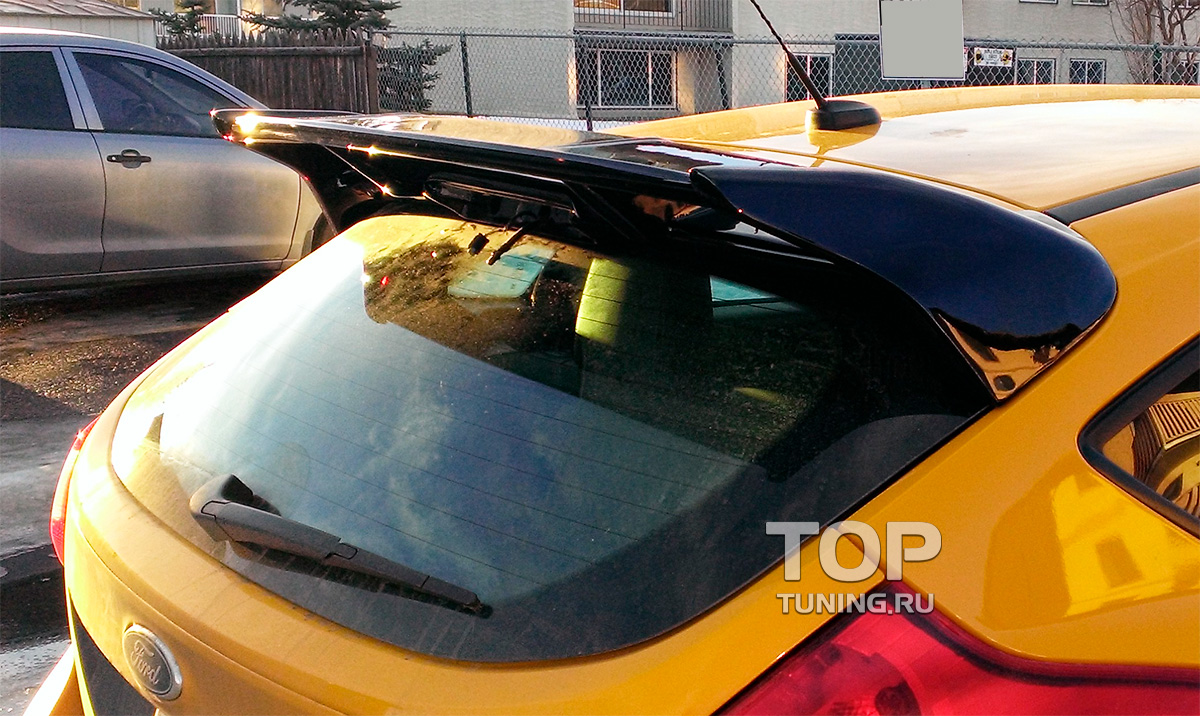 7971 Тюнинг - Спойлер RS дорестайлинг на Ford Focus 3
