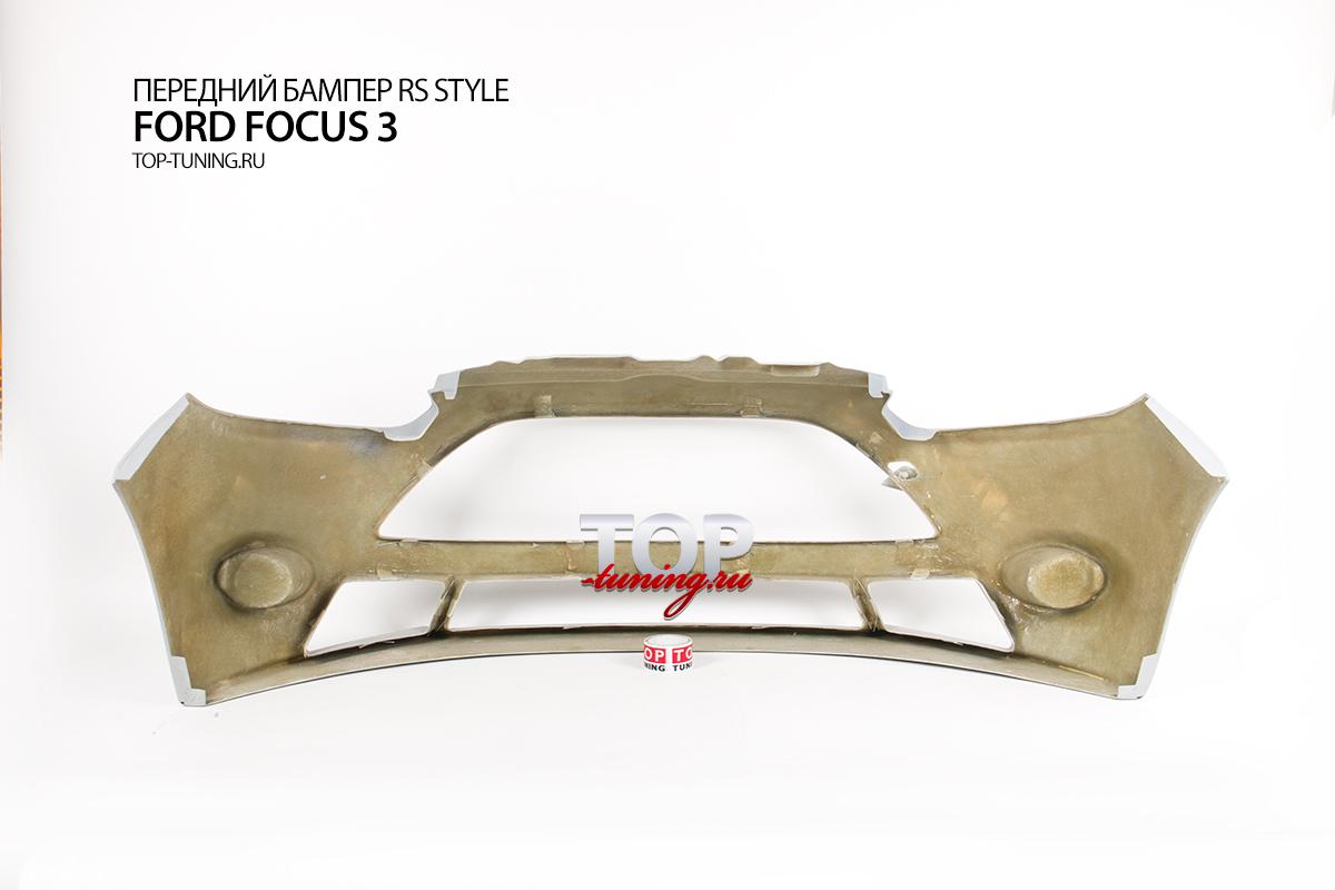 7972 Передний бампер RS Style на Ford Focus 3