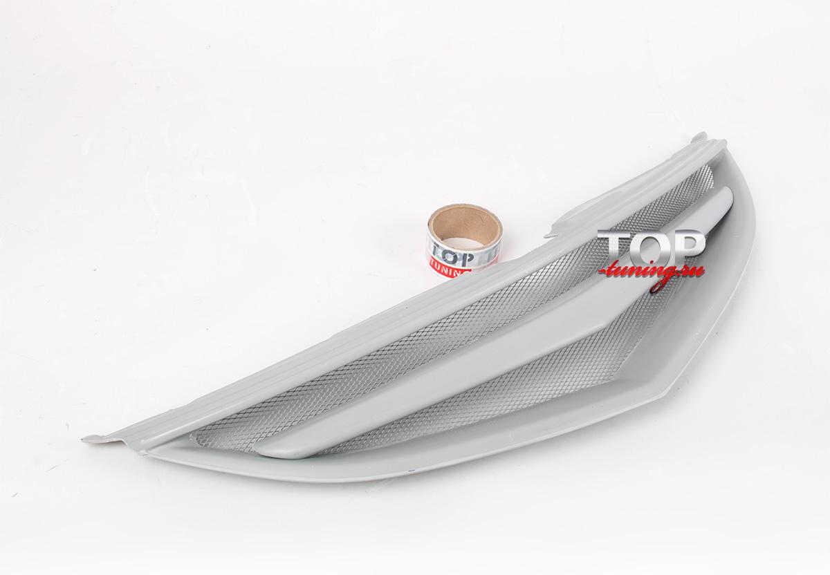 7981 Решетка радиатора без значка S-Line (FIBER) на Mazda 6 GH