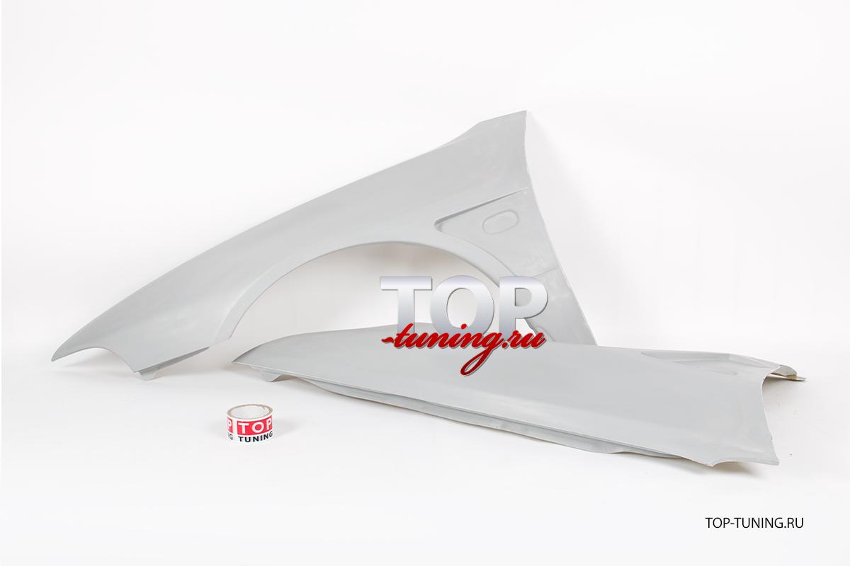 7984 Передние крылья EVO на Mitsubishi Galant 8