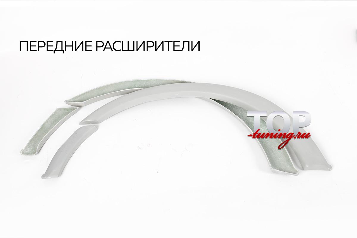 НАКЛАДКИ НА КОЛЕСНЫЕ АРКИ (СЕРПЫ) - ТЮНИНГ МИТСУБИСИ ГАЛАНТ 8