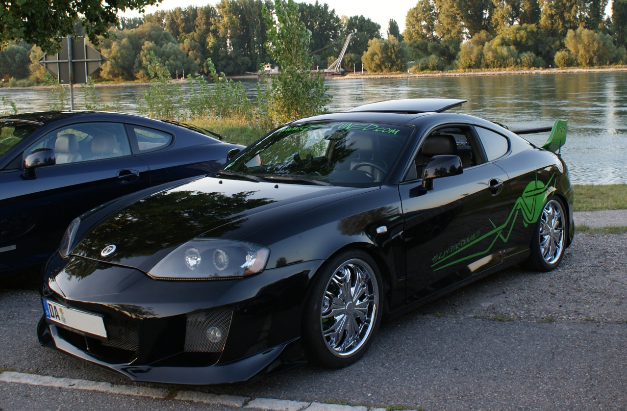 warrior hyundai tiburon coupe gk. Black Bedroom Furniture Sets. Home Design Ideas