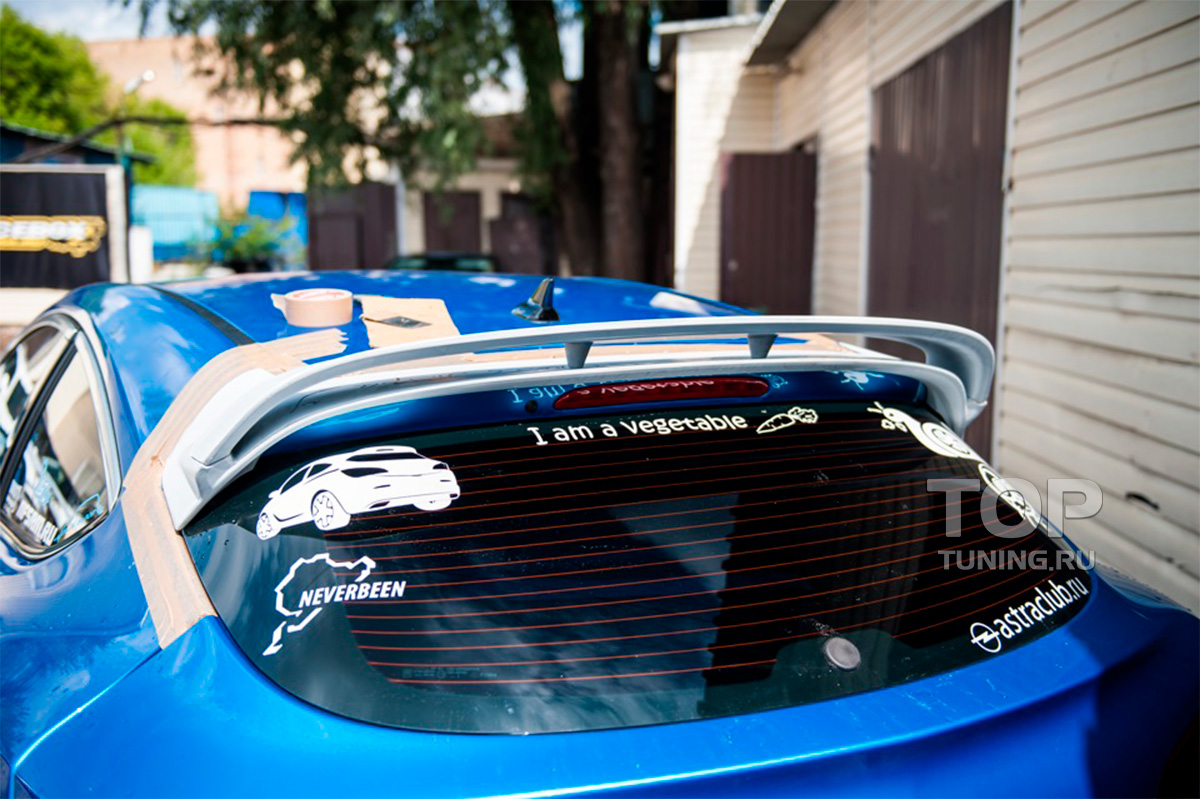 8009 Спойлер на крышку багажника OPC на Opel Opel J GTC